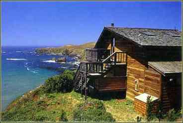 View MENDOCINO OCEANFRONT CLIFF HOUSE