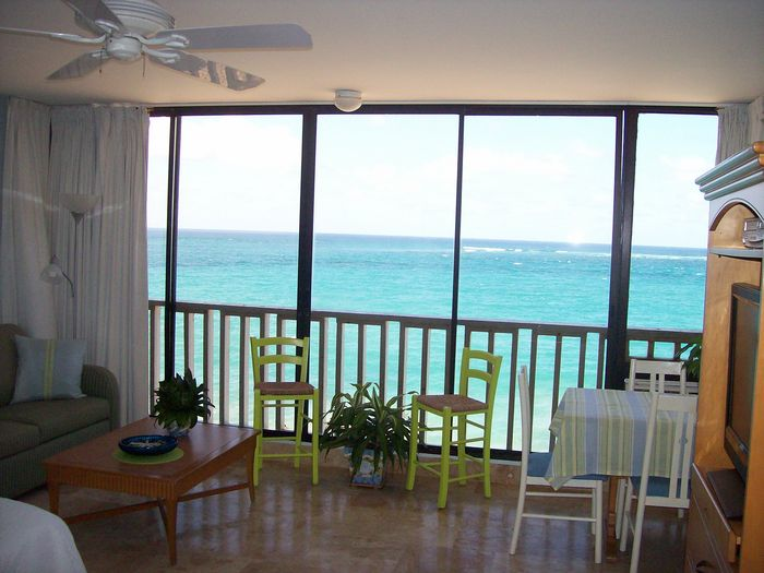 View Breezy Beach Front Studio Condado