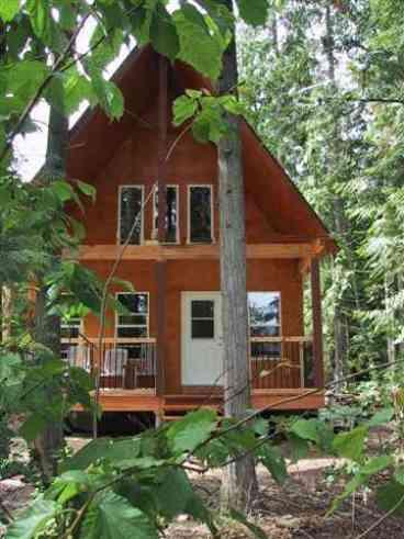 View Griffin Lake Cabin Rental