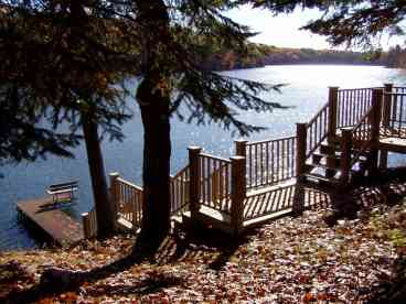 View Hennis Hideaway on Long Lake
