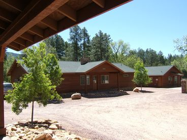 View Pine Creek Cabins and Gazebo