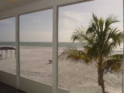 View Siesta Beach Front walk out the