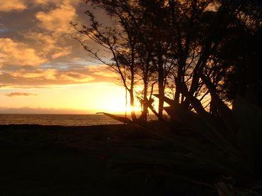 View Big Island Oceanfront Sunrise Cottage