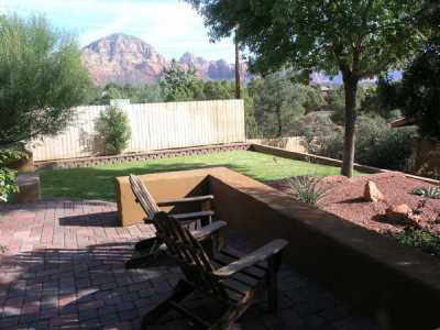 Sedona arizona quiet getaway for Az cabin rentals with hot tub