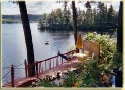 View LAKEFRONT COTTAGE  Fabulous View