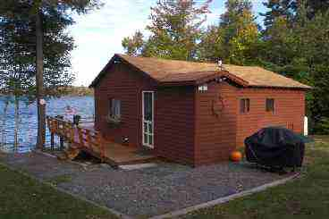 View Maine Waterfront Cabin Rental