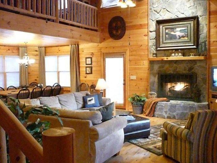 View Big Sky Lodge  Huge Upscale Cabin