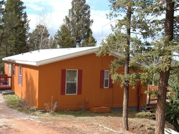 View The Forest House with Pikes Peak