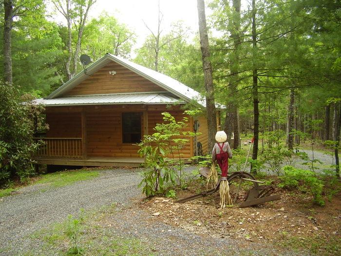 View Papa Bears Den  Log cabin in