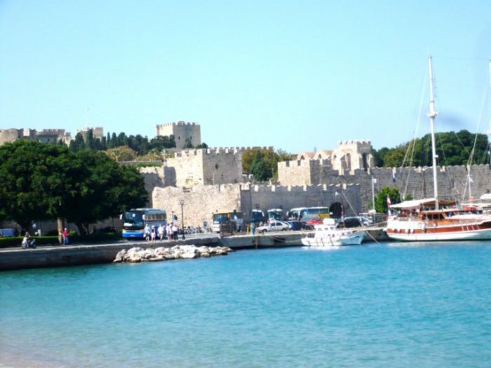 View Rhodes Old Town Maison Roxanne