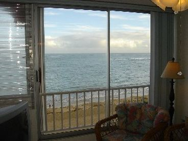 View Beachfront Condo on the Beautiful
