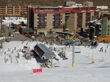 View Mountain Plaza Best Ski InOut