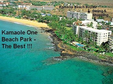 View Maui 3 bdrm  Kamaole Beach Royale