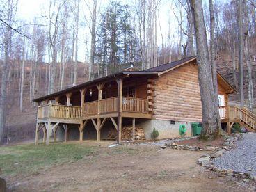View Cataloochee Mtn Cabin