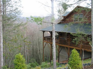 View Amen Corner Log Cabin