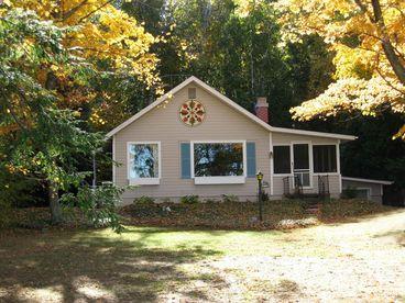 View Crystal Lake Beachfront Cottage