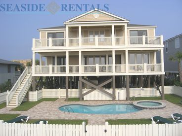 Garden City Beach South Carolina The Majestic Ocean Front Private Pool