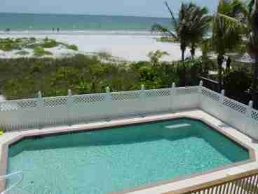 View Estero Beach Pool Home on Estero