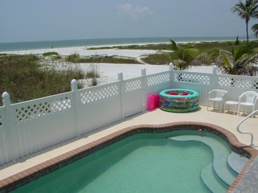 View Gulf Road  Gulf front  Pool Home