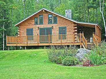 View Whispering Brook Vacation Log Home