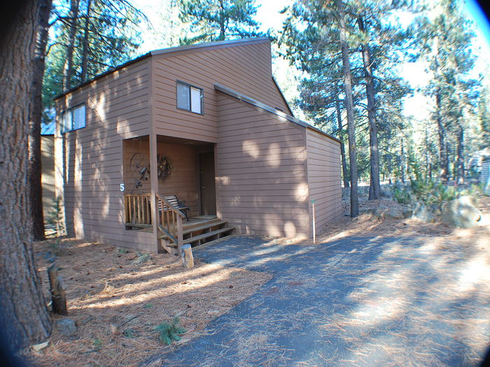View 5 Landrise Lane Cabin in the