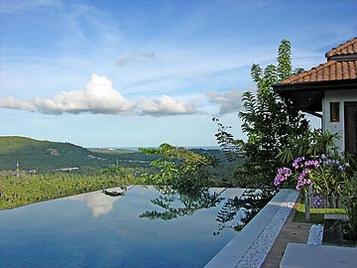 View 2 Luxury Contemporary Tropical