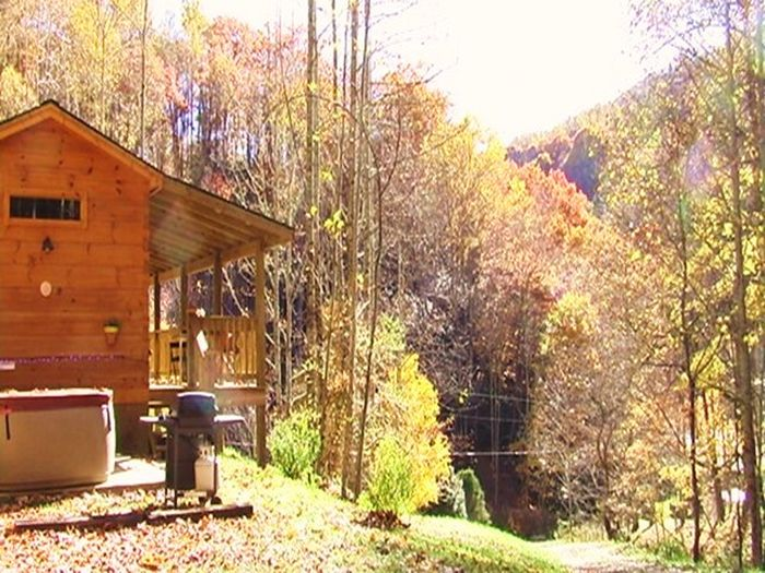 View Private Secluded Log Cabin Rentals