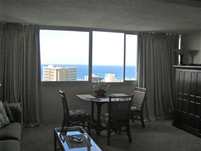 View Gerrys Waikiki Panoramic Ocean