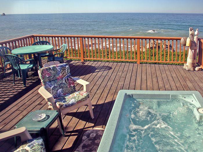 View Ocean Front Resort Cabins