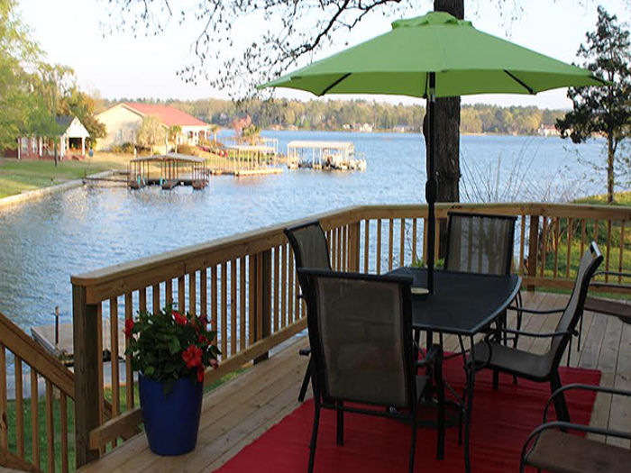 View Hot Springs Lake Home