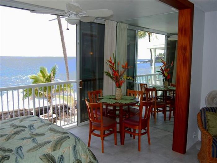 View Kona Magic Sand Oceanfront