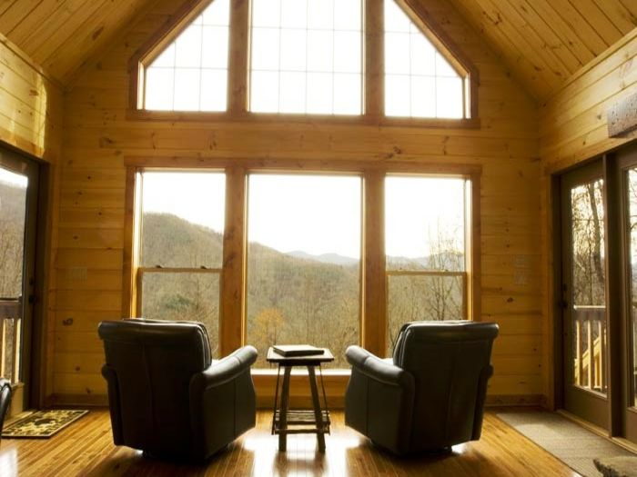 View Millstone Lodge  Upscale Log Cabin
