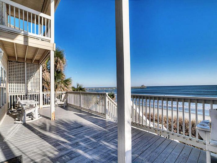 View Oceanfront Beach House Rental