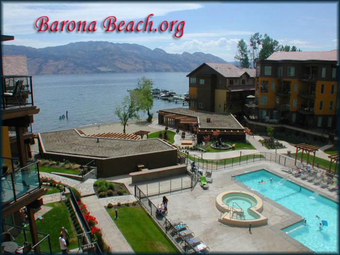 View Barona Beach Kelowna Lakefront