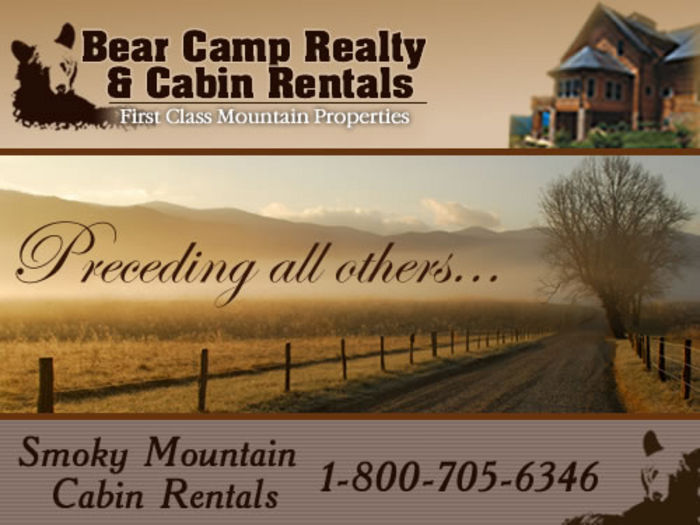 View Bear Camp Cabin Rentals