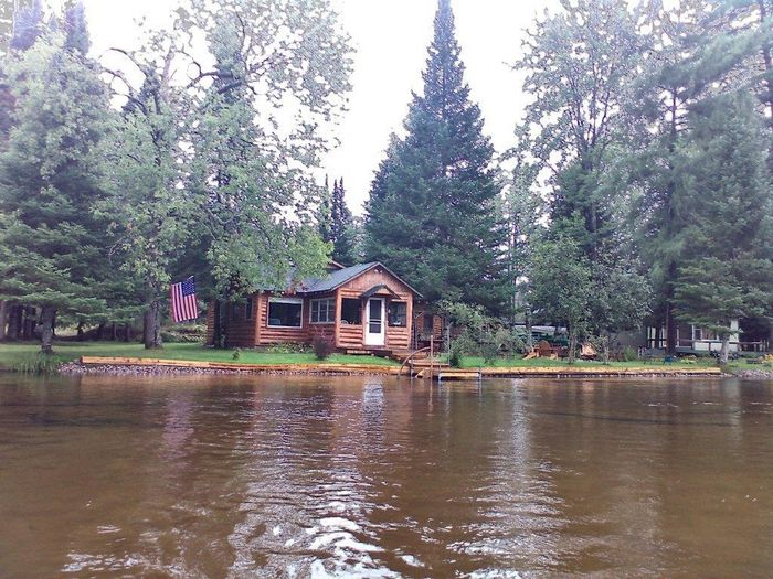 View Log Cabin  Manistee River