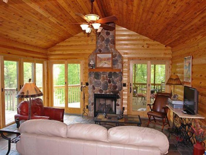 View Log Cabin Retreat