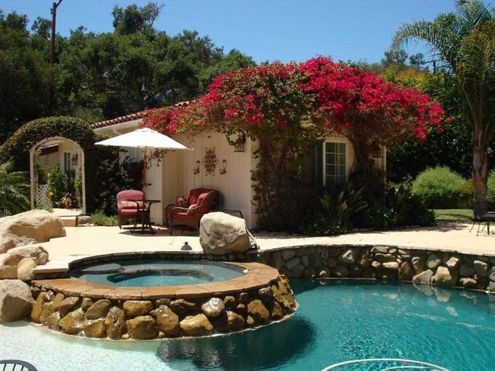 View Poolside Cottage