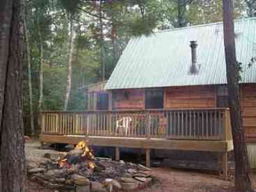View Cupids Cove Log Cabin