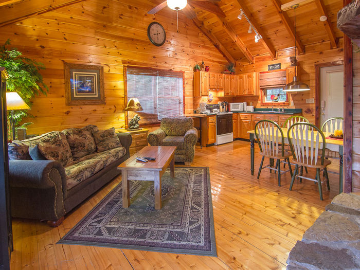 Pigeon forge tennessee private for Pigeon forge cabins with fishing