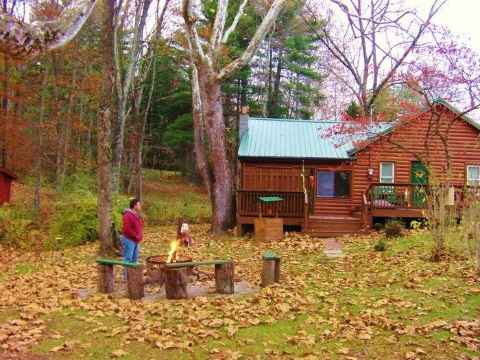 View A Brookside Cabin