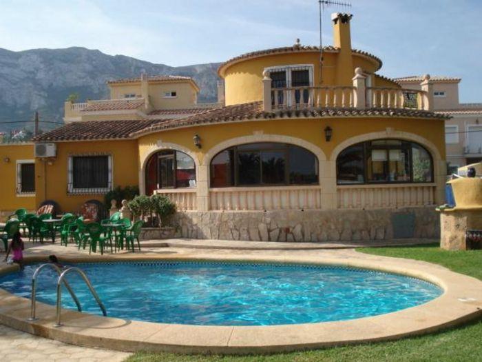 View Villa Denia Alicante