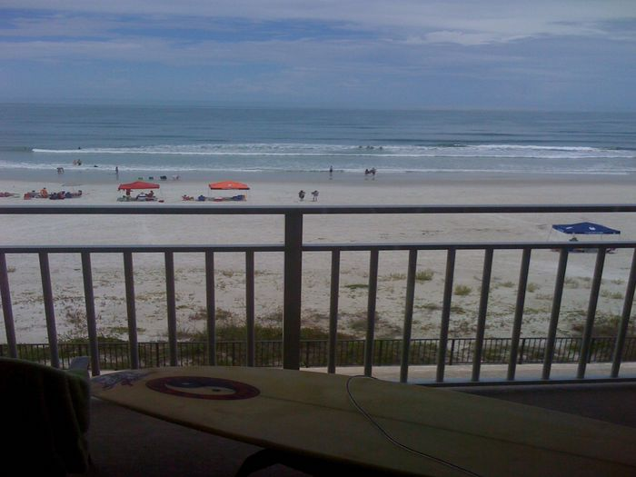 View Ponce Inlet Ocean Front Condo Vacation