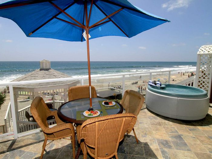View C51033  Carlsbad Oceanfront Vacation