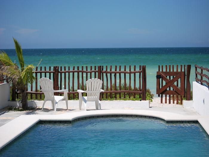 View Beach Front Brand New Villa with