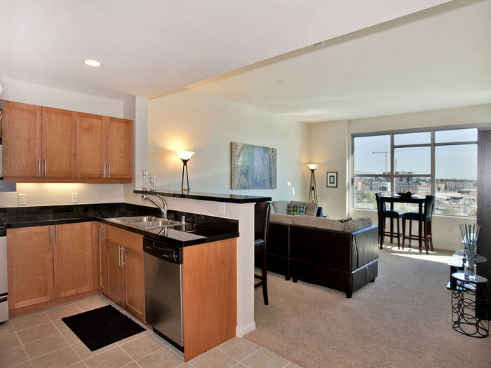 View 1 BD1 BA SOPHISTICATED DOWNTOWN