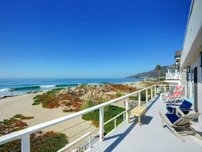 View Malibu Beach Home  Broad Beach