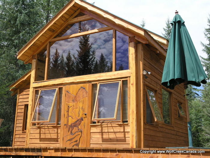 View Wolf Creek Cabin in East Kootenays