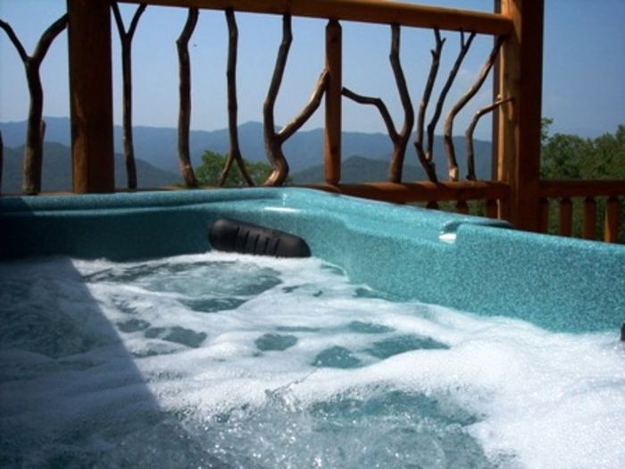 View Peace Of The Mountain  Hot Tub