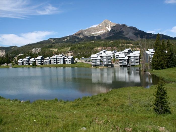 View Lake Condos at Big Sky Montana